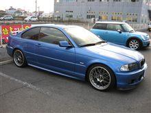 BMW E46 330  完治しました....納車待ち.....低いよね