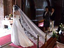 教会での結婚式・・・