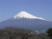 今日の午前の富士山!