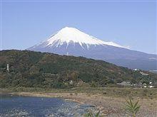 今日の午後の富士山!