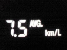 11/30の燃費