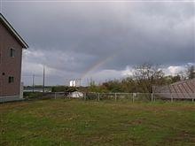 虹のかなたに・・・・(^^♪