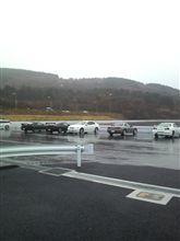 雷雨の中のドリフト練習会