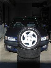 プジョー306Cashmereのタイヤ交換! ~スタッドレスタイヤで冬支度~