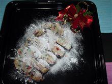 クリスマスケーキはドイツ風で