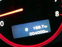 4000km 突破