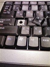 DELLノートパソコンのキーボード
