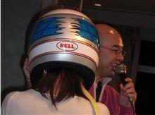 BELLヘルメット!@ALEX忘年会