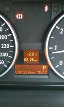 続)今日は寒かった!