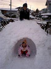 2008 実家が雪まつり