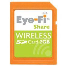 無線LAN内蔵のSDカード「Eye-Fi Share」