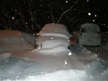 雪で終わる2008年