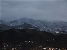 高野山方面は積雪・・・