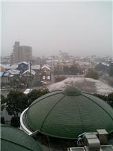 プレ初冠雪!
