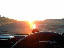 日の出と共に・・・