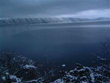 北海道の冬の風景