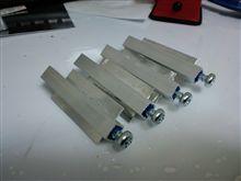 光軸調整用ロッドの制作