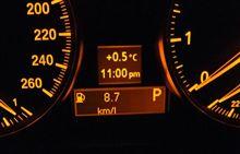 325i 燃費 8.7km/l