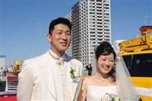 花嫁は元ミスハイウェイ…開業前の首都高で結婚式