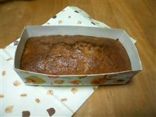 ケーキをいただきました。