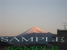 今日の富士山 090130