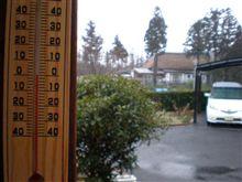春の嵐!おはようござりす。