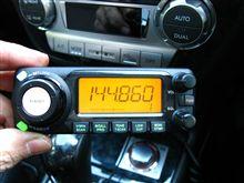 アマチュア無線機の装着(iCOM IC-208改)