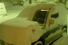 大雪・・・?