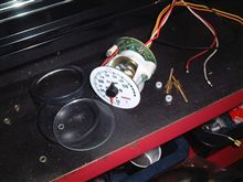 大森電子式油温計