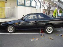 車の整備?