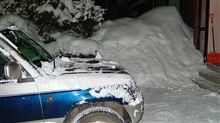 またも大雪・・・