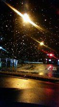 雪降ってきた!