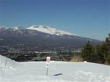 ようやく初スキー