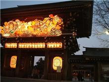 寒川神社で