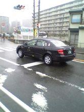 カローラのタクシー発見・・・!!