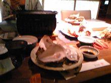 蟹やら牡蠣やら