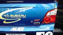 スバルのWRCカー