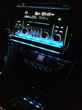 とうとう車内に青LED装着しました~♪