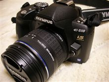 カメラのセンサーが傾いていた・・・。オリンパスE-510