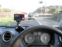 【動画】デジカメ車載ホルダーテスト