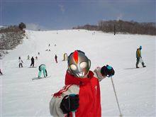 春スキーに行く