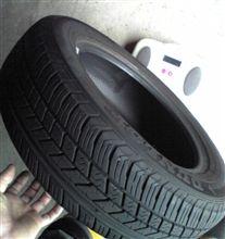 タイヤとホイールの重量計ってみた 2  ~ ファットマン'ズ テスト