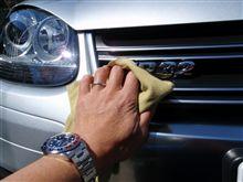 VW-23 洗車・・・o(▼_▼θ