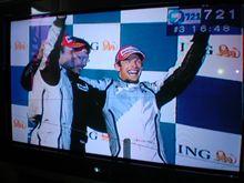 F1オーストラリアGP決勝 デビュー戦でワンツーフィニッシュ!
