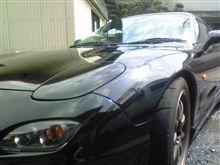 久々に洗車しました。
