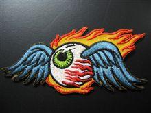 Flying Eyeball Patchをジャンプスーツに!