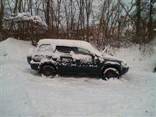 こんな雪はじめて!(`・ω´・ ;) 2
