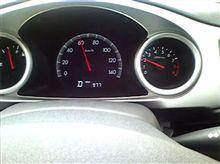 60km/hで2000rpm