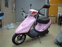 ピンク色のJOG