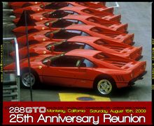 288 GTO 25th Anniversary Reunion